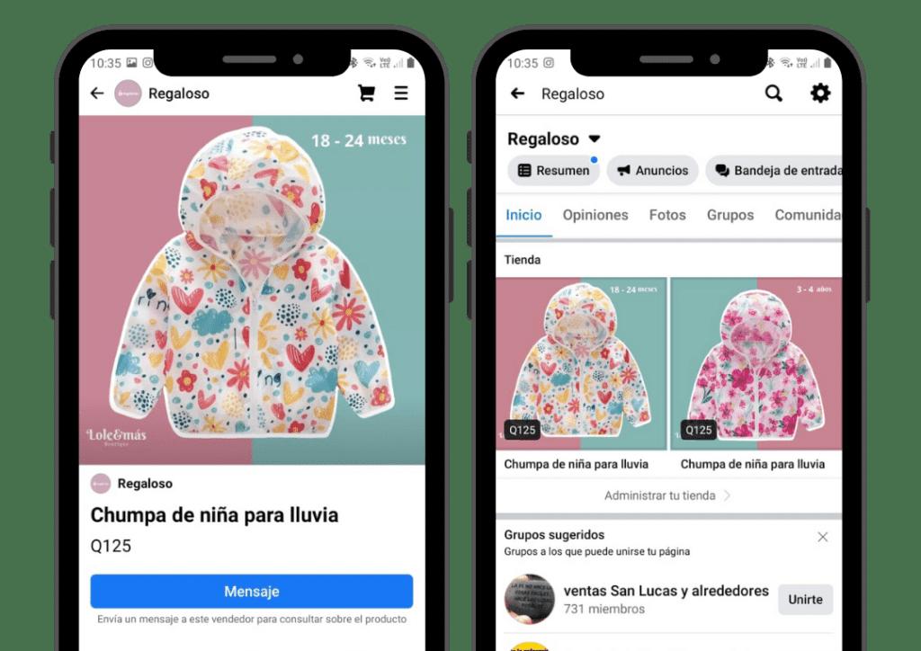 Cómo crear una tienda en Facebook